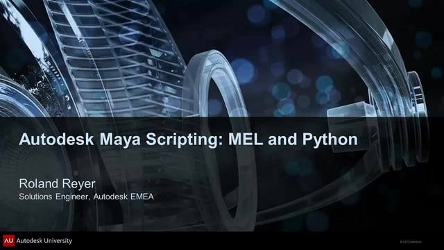 The script language MEL (Maya Embedded Language) is not only a feature of Autodesk Maya software, it is the foundation. Every function in Maya is a MEL command that can be accessed using menus, icons, buttons, marking menus, and other controls. In this class, we will cover MEL concepts, the possibilities and limitations of this scripting language, and the differences in the Maya API. We will work through some examples, and discuss the differences between MEL and Python and explain the…