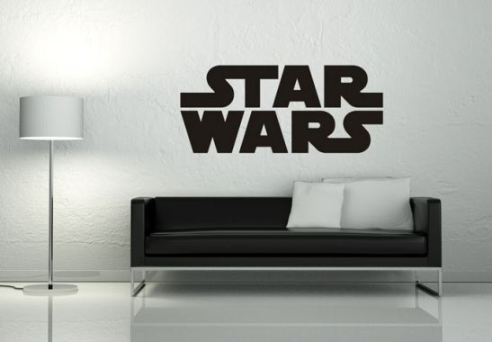 Wall-Art Star Wars Logo
