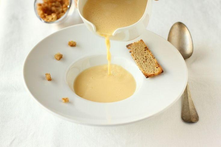 Questa zuppa è corroborante, nutriente e al tempo stesso dall'aspetto fine grazie alla cremosità che la caratterizza. Riscalda...