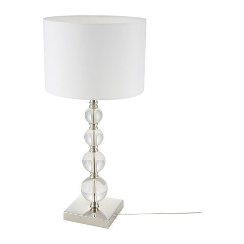 Spectacular  ROXMO Table lamp IKEA I like this base but the shade needs a little