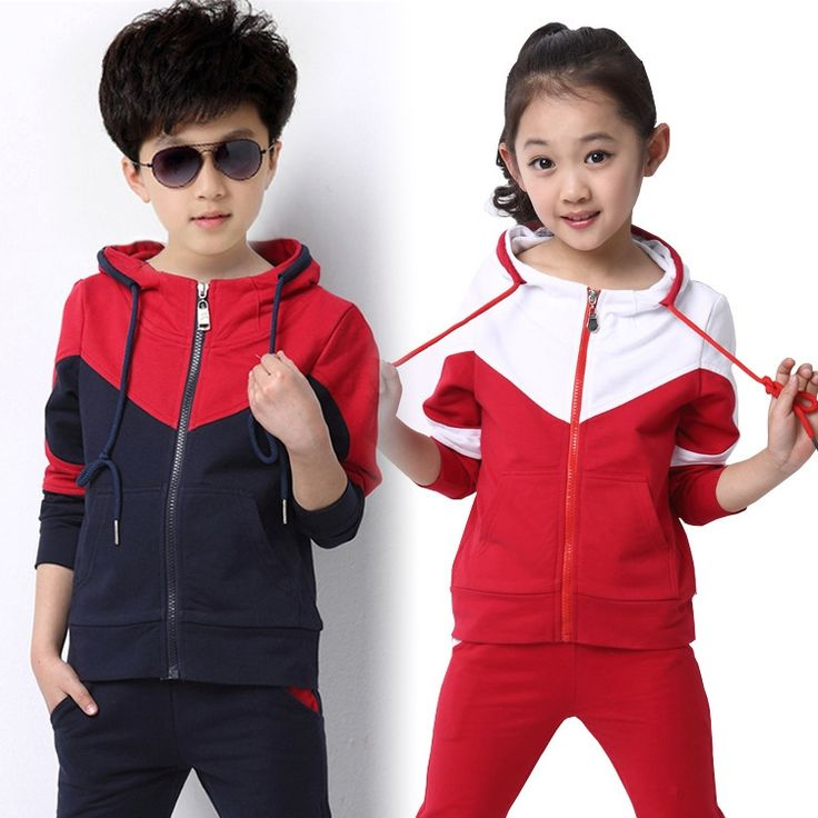 37.61$  Buy now - https://alitems.com/g/1e8d114494b01f4c715516525dc3e8/?i=5&ulp=https%3A%2F%2Fwww.aliexpress.com%2Fitem%2F2016-Spring-New-Fall-Winter-Clothes-Children-s-Clothing-Girls-Sports-Suit-Kids-Clothes-Children-Coat%2F32688680242.html - 2Pcs Girls Clothing Sets 2016 Autumn Kids Girls Sport Clothing Suit Long Sleeve School Uniform for Girls Boy Tracksuits Children