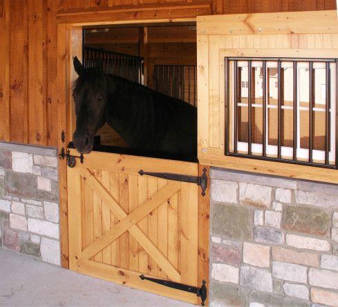 Horse stall doors barn stall doors b builders horses for 1 stall horse barn