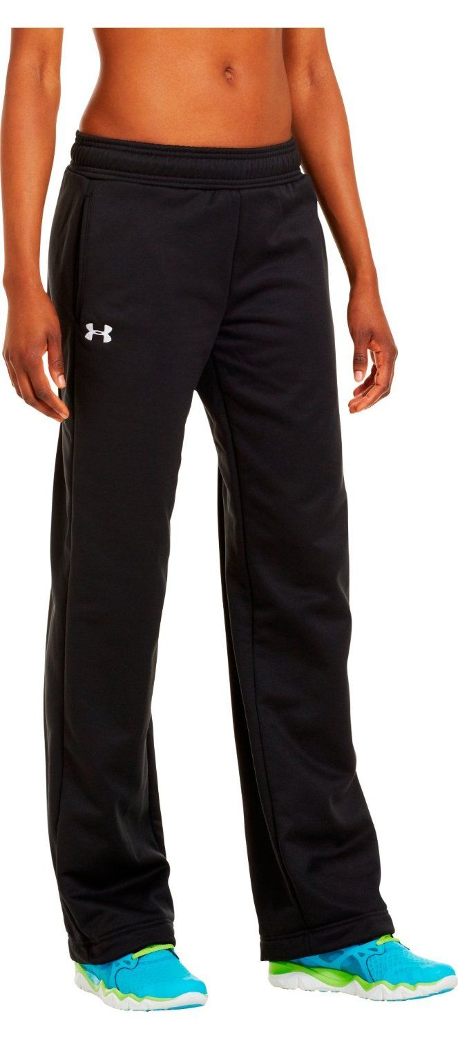 Under Armour Women's Armour® Fleece Team Pants           ($49.95) http://www.amazon.com/exec/obidos/ASIN/B005CZIM30/hpb2-20/ASIN/B005CZIM30 High quality item, nice pockets, soft on inside. - So I ordered this online thinking that my size should be medium, however, this is WOMENS size not juniors! - I know the teenagers like these loose and slouchy... but these are really big!!