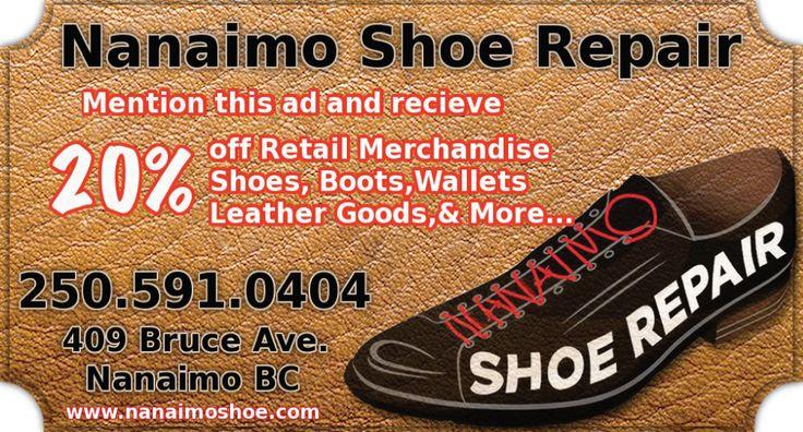 D Shoe Repair Nanaimo