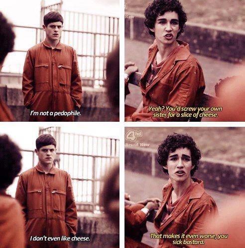 Misfits, I miss you Nathan.