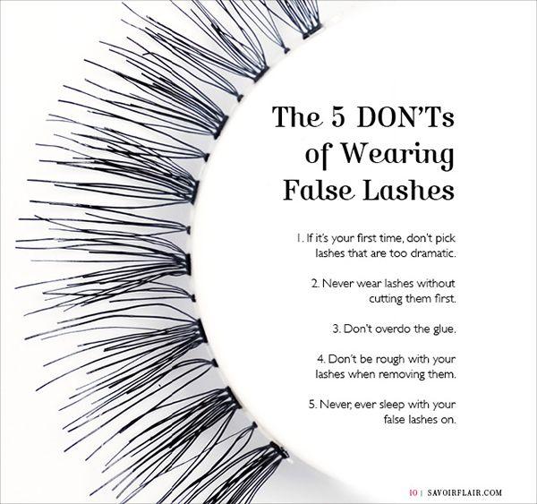 18 Hacks Tips And Tricks On How To Apply False Eyelashes
