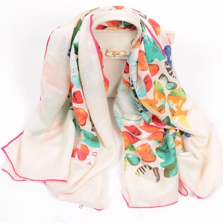 Природный 100% кашемир мода женский стиль KE Z 0 конструктор ожерелье бабочка цветок размер 140 X 140 см Высокое качество купить на AliExpress