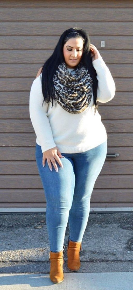 Casual but comfy plus size fall outfits ideas 24