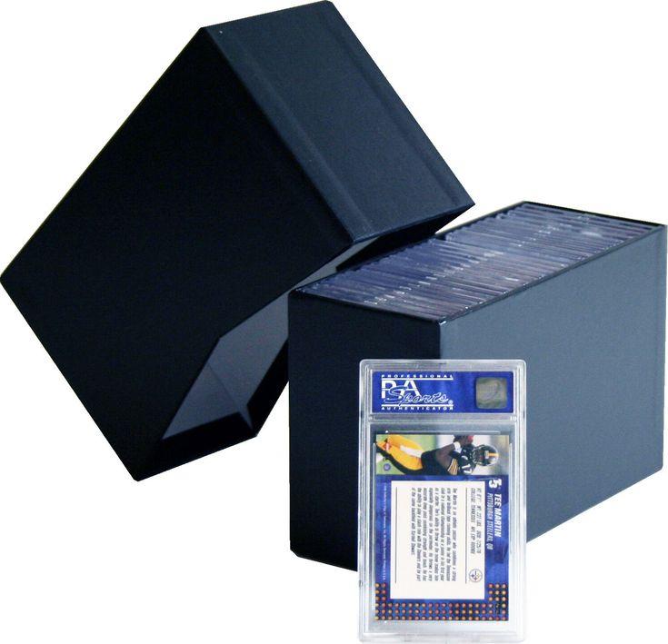 Graded card storage boxes vnotch trading card storage