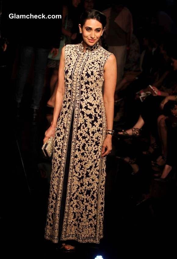 #KnotsAndHearts || #WeLove || Celeb Fashion - Karishma Kapoor in Manish Malhotra creation