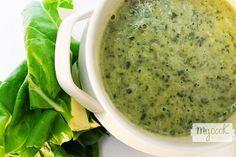 Crema de acelgas - http://www.mycookrecetas.com/crema-de-acelgas/