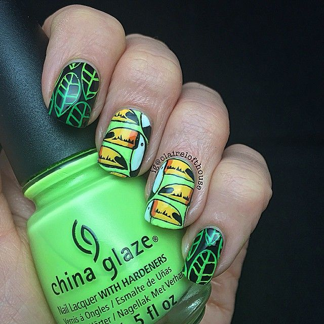 256 best vacation nails images on Pinterest   Nail scissors, Palm ...