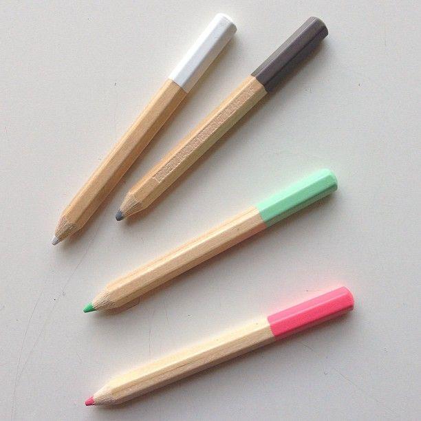 pencils / @Audrey Woollen | Urbanic Paper on instagram