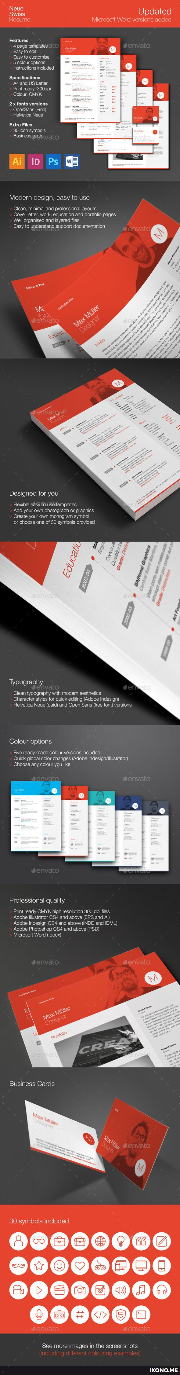 167 best # Resume/CV Templates Designs images on Pinterest ...