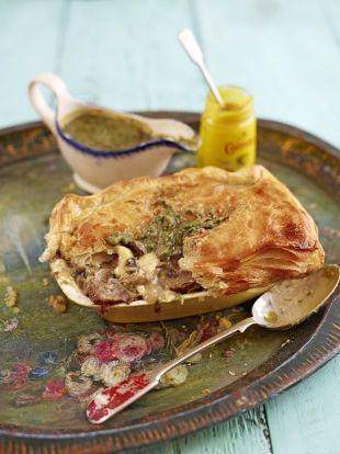 Mushroom & Tunworth cheese pies | Jamie Oliver