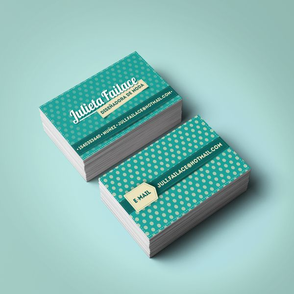 Tarjetas Personales on Behance