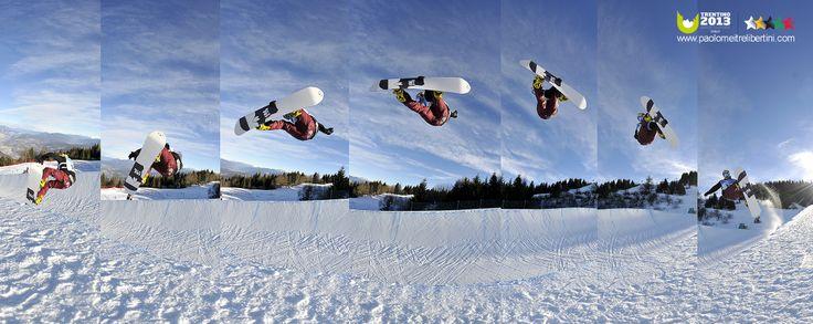 Corso di fotografia sportiva_winter universiade del Trentino_Paolo Meitre_Libertini_Snowboard