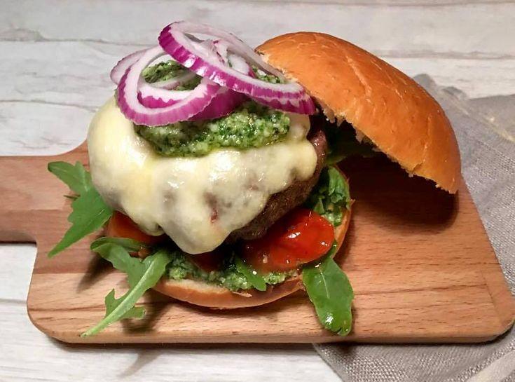 Italiensk burger