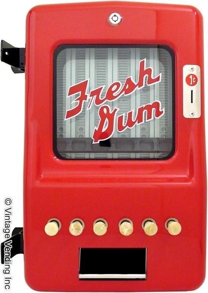 chiclet gum machine
