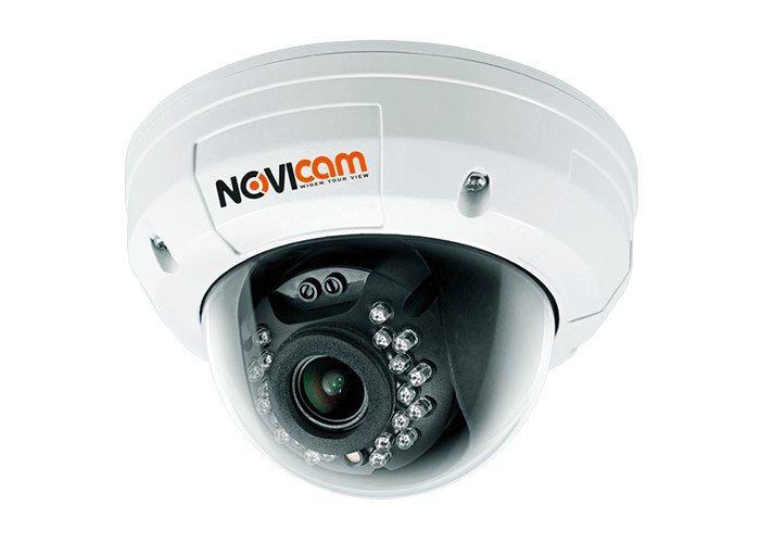 Видеокамера AHD NOVIcam W90SR (ver.039) 1891-02 Цветная вандалозащищенная Full HD видеокамера W90SR с моторизированным объективом и ИК подсветкой, производства компании NOVIcam, с технологией цифровой передачи сигнала HD-SDI является современным воплощением новейших разработок обработки и передачи видео сигналов. Позволяет передавать несжатое цифровое видео высокого разрешения, поэтому изображение от HDcctv-камер всегда отличается высоким качеством и отсутствием артефактов…
