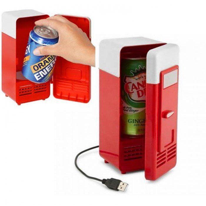 PAC Mini USB Fridge - Perfect Refrigerator for Laptop/PC - Alpha Bargain