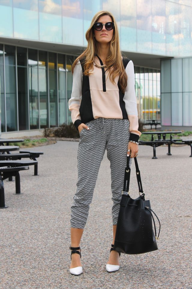 Slouchy Shapes - Chic Street Style
