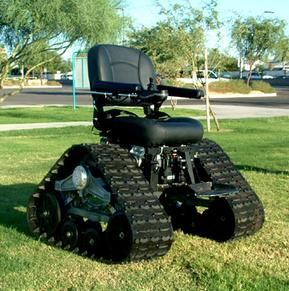 Offroading With The Tank Chair