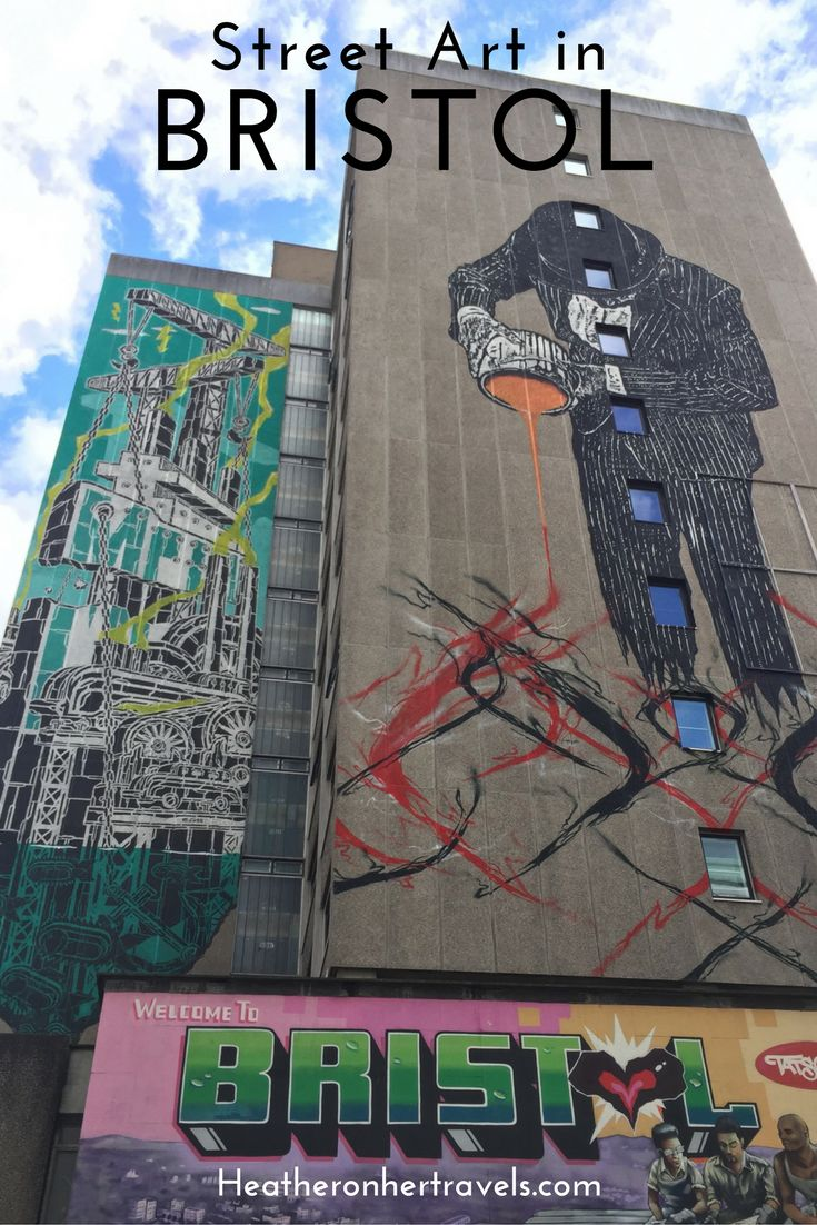 Read about Street Art in Bristol