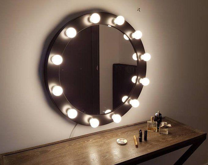Make Up Mirror With Lights Vanity Mirror Many Colours Etsy In 2020 Vanity Mirror Mirrors That Light Up Hollywood Vanity Mirror