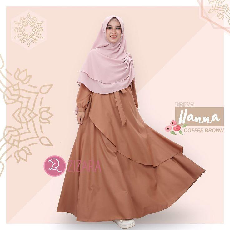 Gamis Zizara Hanna Dress Coffee Brown - baju muslimah busana muslim Kini hadir untukmu yang cantik syari dan trendy . . Detail : 1. Bahan katun Ima prada 2. Cutting pinggang 3. Resleting depan panjang 4. Tanpa karet 5. Tangan model karet 6. Saku kanan 7. Aksen tali panjang yang bisa dilepas 8. Lebar rok /- 3.8 m . . S : LD 98 PB 135 M : LD 100 PB 137 L : LD 104 PB 140 XL : LD 110 PB 142 . . Ready size S L Harga Rp 250.000 (gamis saja) . . www.facebook.com/gamiszizara…