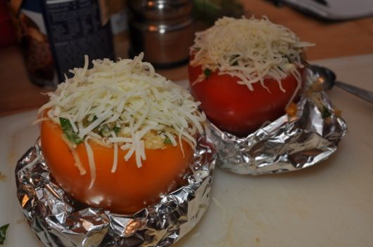 Grilled Stuffed Tomatoes   Recipe   Stuffed Tomatoes, Tomatoes and Lol