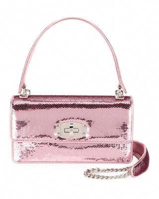 16aac6f8f25e Miu Miu Cleo Sequined Top-Handle Shoulder Bag  MiuMiu