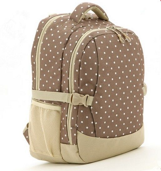 Travel Waterproof Polka Dot Print Diaper Bag 9 Colors