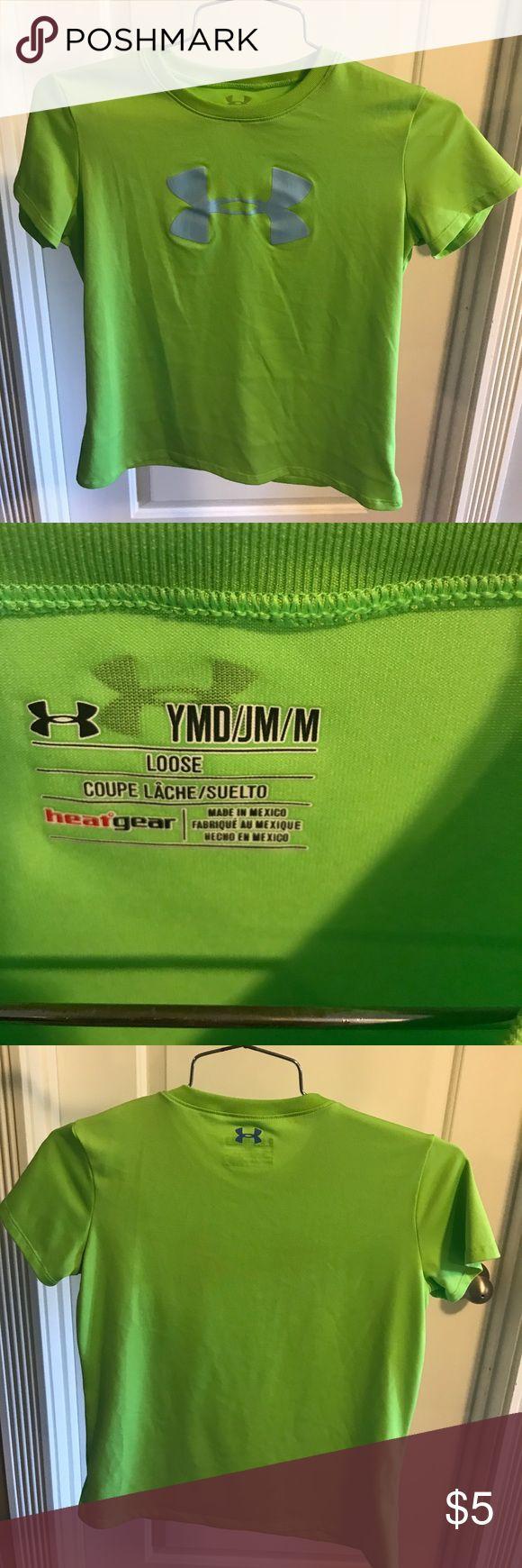 Girls Under Armour shirt!!! Lime green girls Under Armour shirt!!! Like New 💕💕 Under Armour Shirts & Tops Tees - Short Sleeve