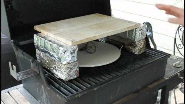 We've told you before how to turn your charcoal grill into pizza oven, but it's tough to beat the convenience of gas. If you have a gas grill, here's how you can get the same results.