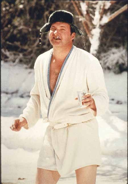 Randy Quaid- Wouldn't you like to share some egg nog with me?