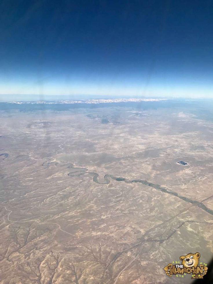 Landing at Salt Lake City http://www.thekumachan.com/landing-at-salt-lake-city/  #Flight #Mountains #SaltLakeCity #Utah #desert #photos
