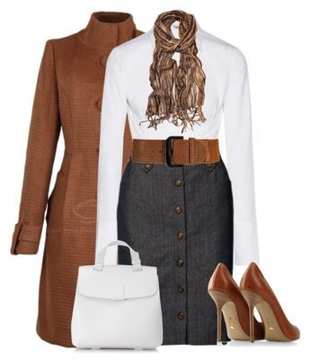 Untitled #3028 by mrsdarlene on Polyvore featuring Helmut Lang, People Tree, Sergio Rossi and Nico Giani