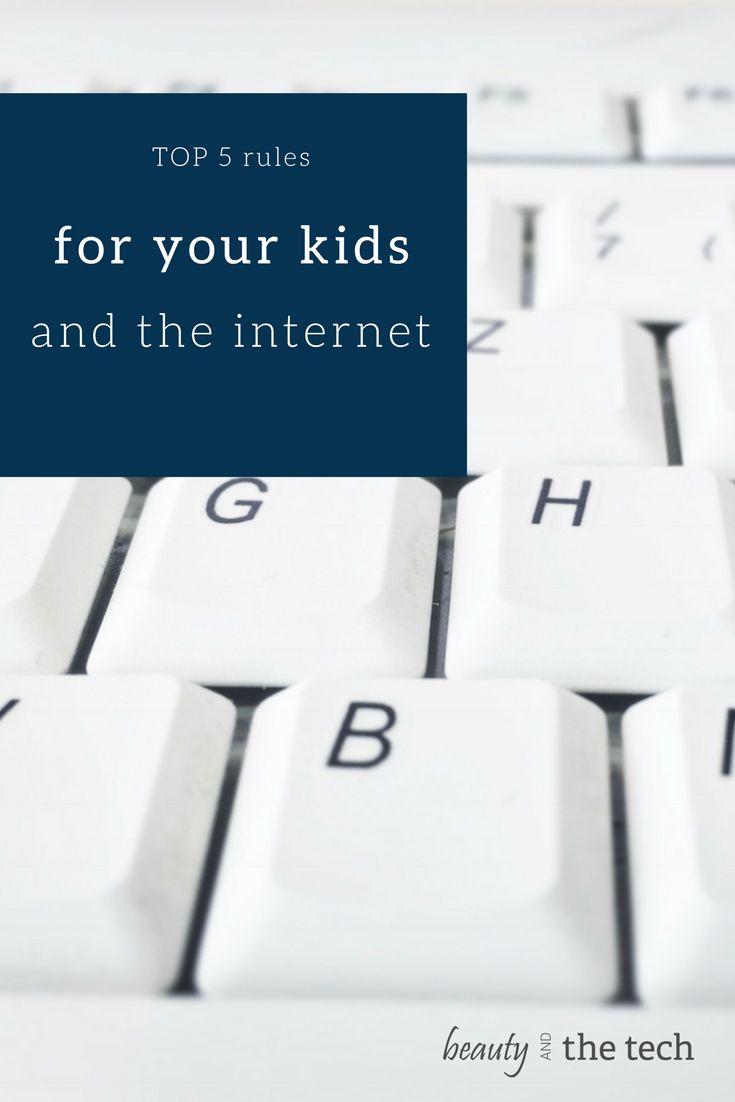 Im Internet gibt es andere Regeln und Verhaltensweisen als im wirklichen Leben. Das muss man aber auch erst einmal lernen und sollte heutzutage den Kindern... Top 5 Regeln für Kids im Internet