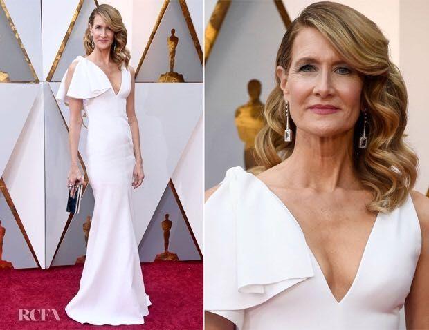 Laura Dern 2018 red carpet Oscars