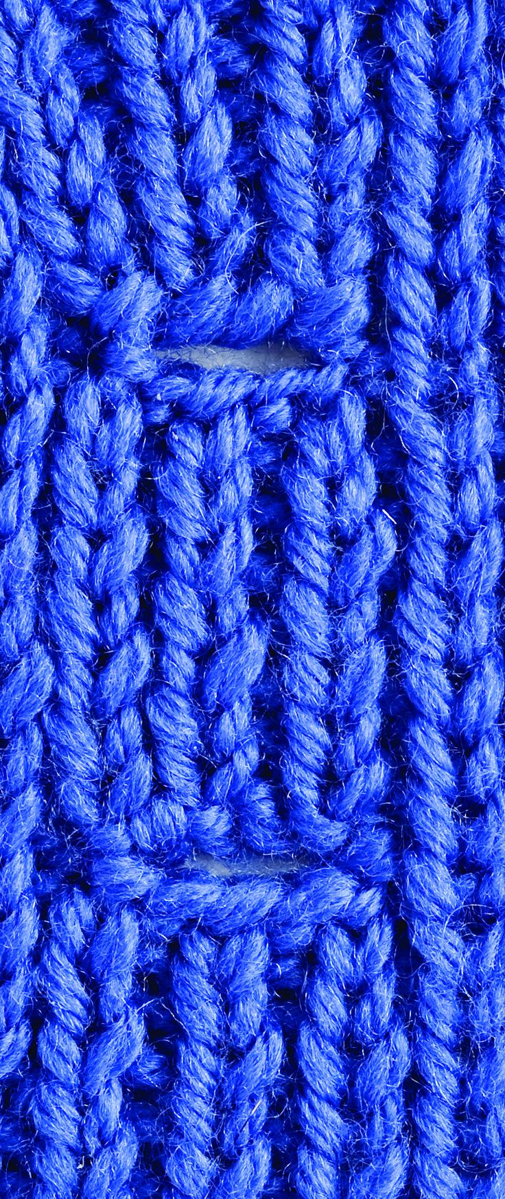 Kara's Quick-Knit Tip: Buttonholes Nice & Neat | Creative Knitting BlogCreative Knitting Blog