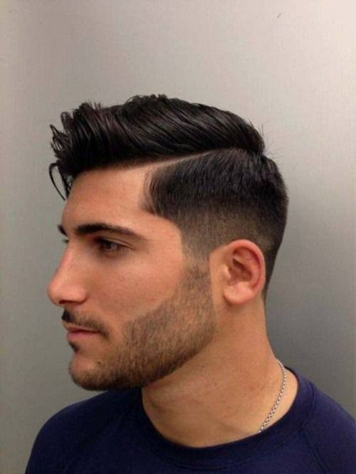 The Gentlemen's Cut is a classic men's hairstyle with convenient versatility. This men's haircut is defined by the way it blends at the corners, and is suitable for most hair textures and hair lines.