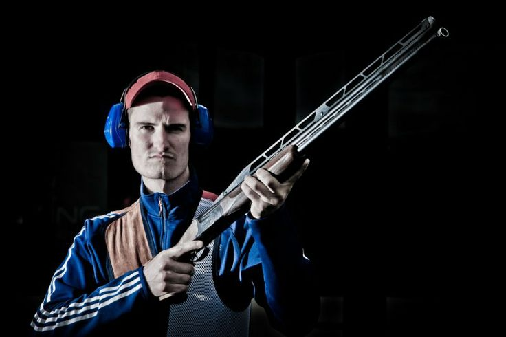 Peter Wilson - British Olympic Double Trap Shooter