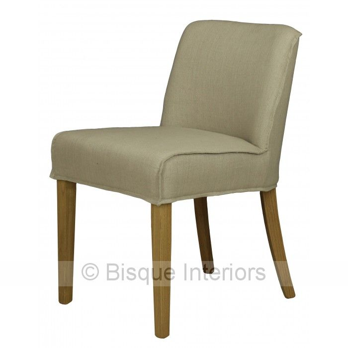 WIDE DINING CHAIR/NO ARMS | chairs