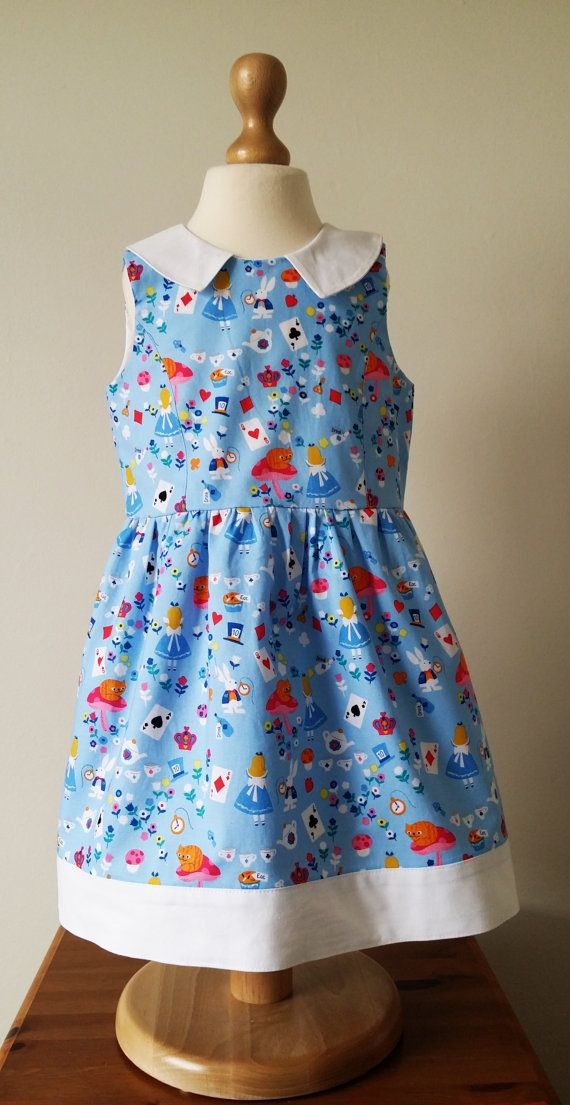 Check out this item in my Etsy shop https://www.etsy.com/uk/listing/293654925/alice-in-wonderland-dress-alice-dress