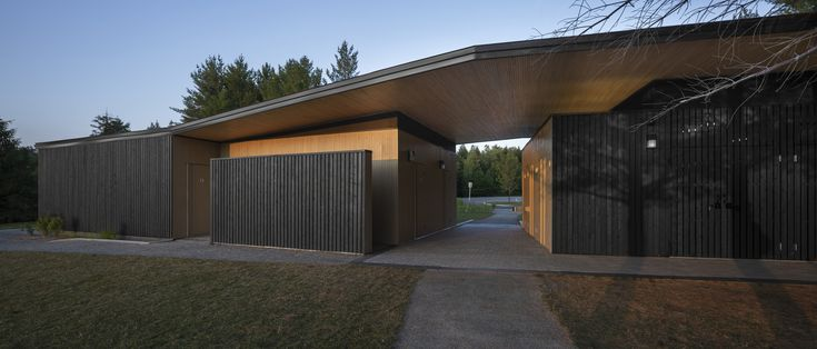 Gallery of Opeongo Park Service Center Pavilion / Anne Carrier architecture – 2