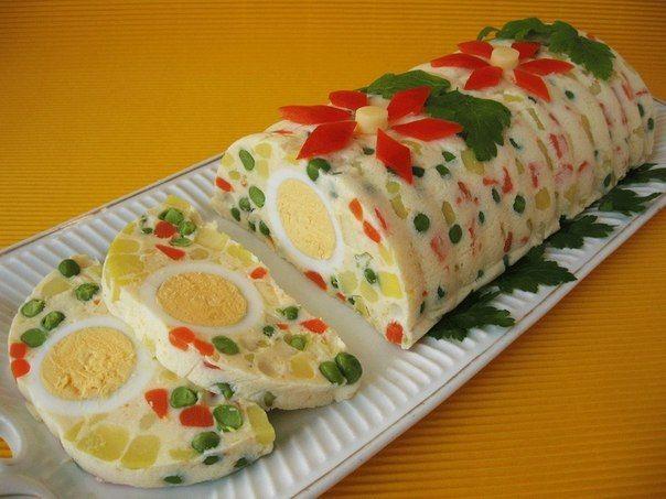 Вкусный салат-желе с овощами :: forumroditeley.ru - форум родителей