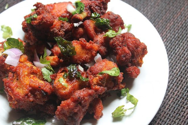 Chicken 65 is my favourite. I made it quite a different ways and posted it here. Check out my spicy chicken 65 and my crispy chicken 65 recipe. Similar Recipes, Chicken Lollipop Chicken Croquettes Gobi 65 Gobi 65 Restaurant Style Paneer 65 Soya Chunks 65 This is a simple recipe that can be made marinated for upto 2 days....Read More