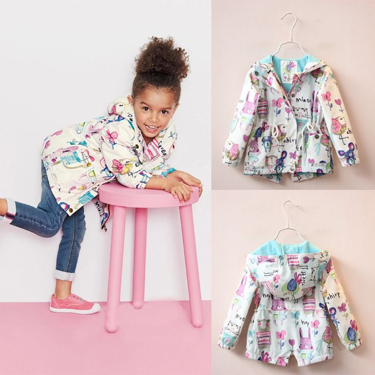 Cheap jacket for wedding dress, Buy Quality jacket outfits directly from China jacket microfiber Suppliers: 2016 New Spring Cute Baby Girl Coat Print Cartoon Graffiti Hooded Zipper Girl Jacket Full Sleeve Toddler Girl OuterwearU