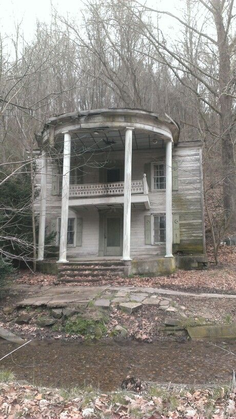 Cool old house in the Mill creek section of Russell County Va.